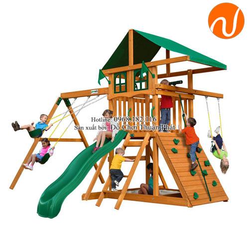 Bộ nhà chòi đa năng cho bé từ 2 -5 tuổi