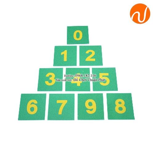 Bảng chữ số cát - in thường UDLQ-3402