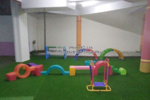Bộ tập gym, đồ chơi vận động nhập khẩu cho trường mầm non tại Hà Nội