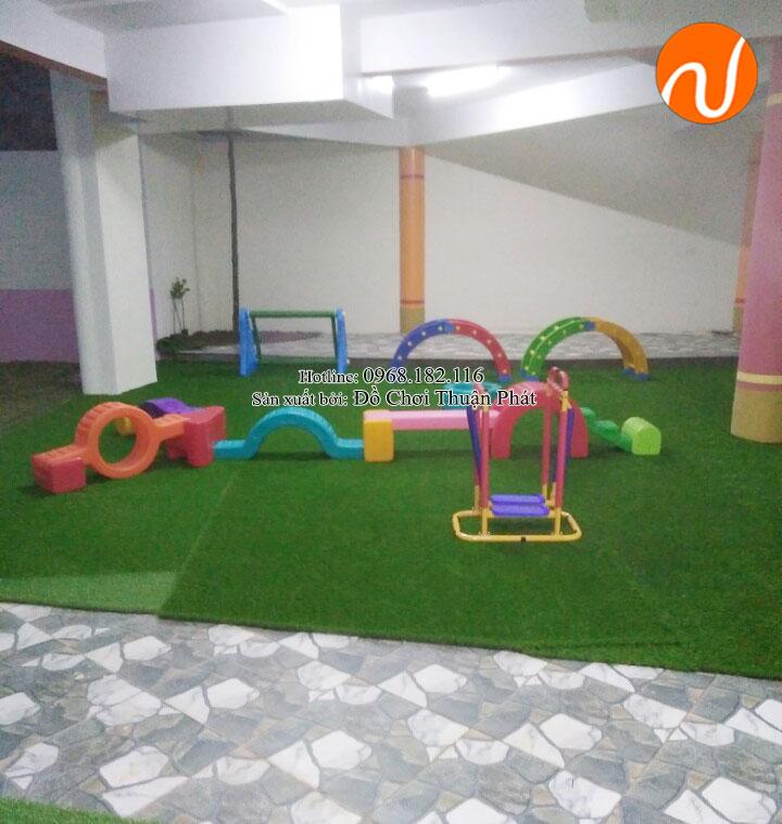 Bộ tập gym, đồ chơi vận động nhập khẩu cho trường mầm non tại Hà Nội-3