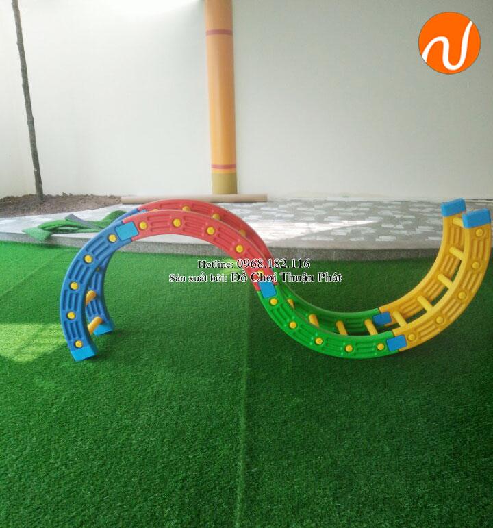 Bộ tập gym, đồ chơi vận động nhập khẩu cho trường mầm non tại Hà Nội-4