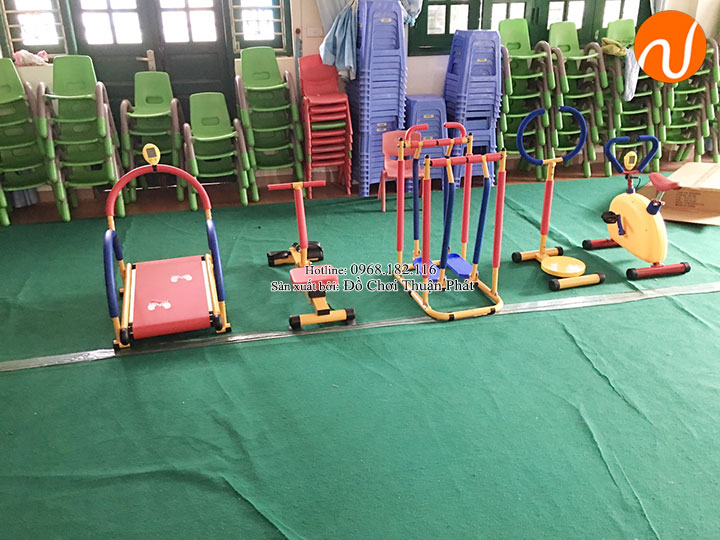 Bộ tập gym, đồ chơi vận động nhập khẩu cho trường mầm non tại Hà Nội-6