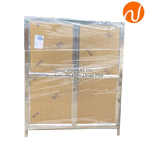 Tủ úp bát inox trường mầm non TP-4200-5