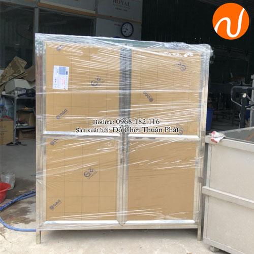 Tủ úp bát inox trường mầm non TP-4200-6