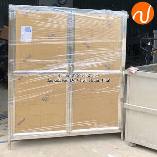 Tủ úp bát inox trường mầm non TP-4200-8