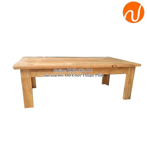 Bàn gỗ mâm non chân cao 30cm TPBG-003-1