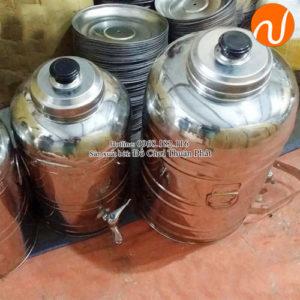 Bình ủ nước inox sài gòn giá rẻ