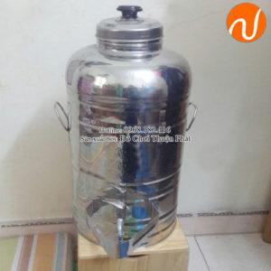 Bình ủ nước inox sài gòn 3 lớp chống va đập