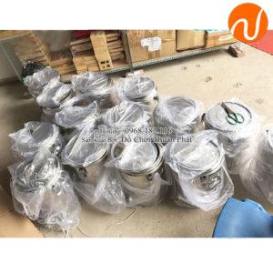 bình ủ nước inox có cấu tạo là chất liệu inox 1 lớp và 2 lớp tùy lựa chọn