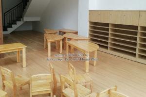 Cung cấp nội thất, thiết bị phòng học cho trường mầm non tại Hưng Yên