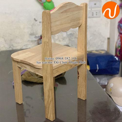 Ghế gỗ mầm non cho bé TP-1108-2