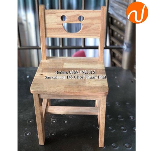 Ghế gỗ mầm non cho bé TP-1108-3