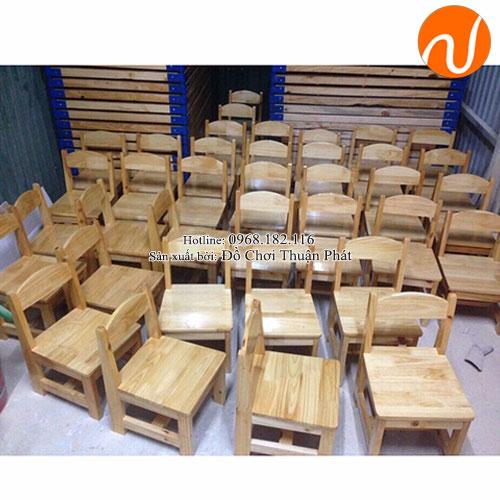 Ghế gỗ mầm non cho bé TP-1108-4