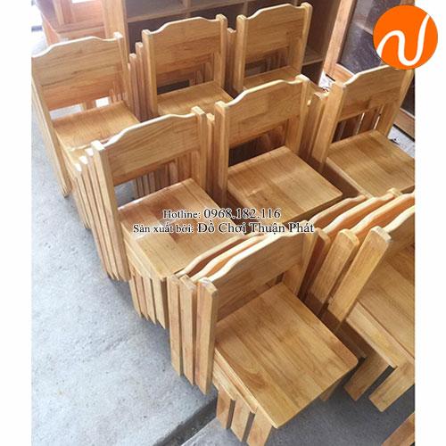 Ghế gỗ mầm non cho bé TP-1108-5