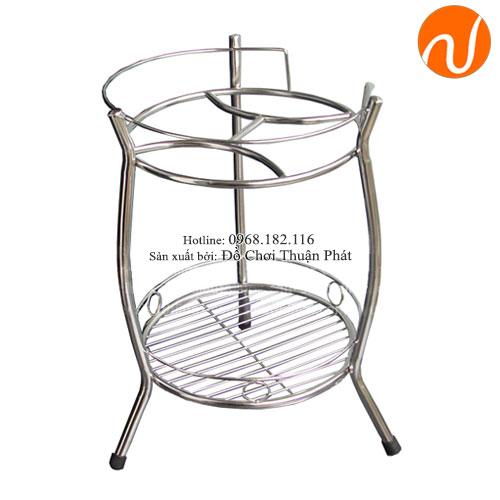Giá để bình đựng nước và bình ủ nước inox