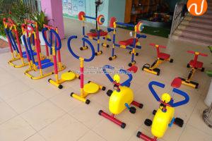 Lắp đặt bộ tập gym cho bé cho các trường mầm non tại Hà Nội
