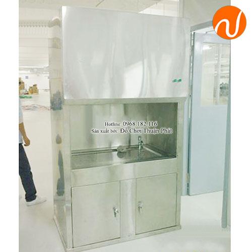 Tủ hút khí độc bằng inox cho trường mầm non