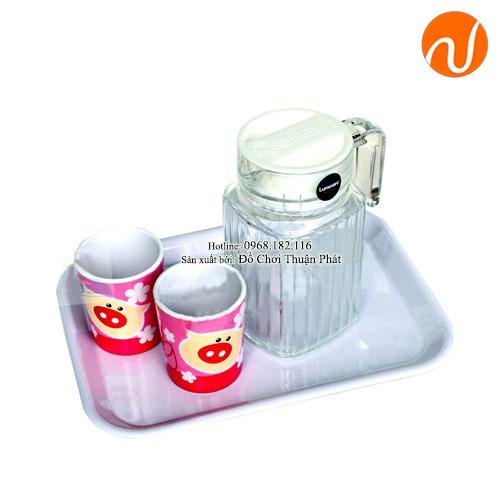 Giáo cụ montessori bài học rót nước với bình trong (cốc trong) có tay cầm GC36-465
