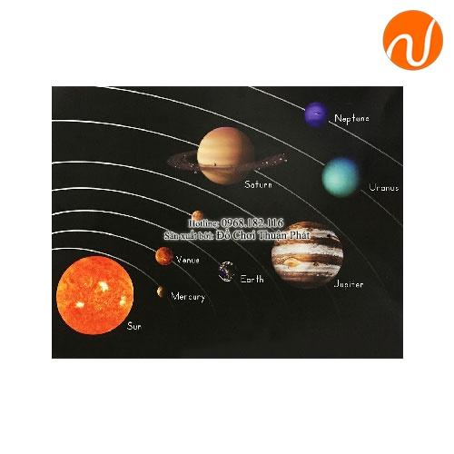 Giáo cụ montessori bộ 8 hành tinh