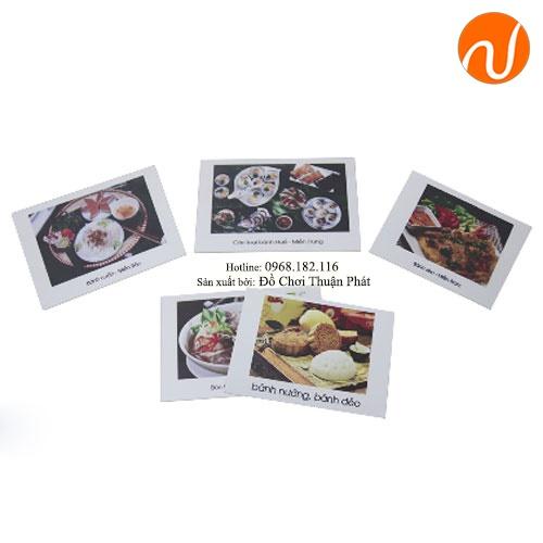 Giáo cụ montessori các món ăn vùng miền UDKP-5607