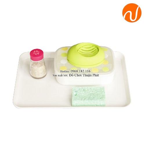 Giáo cụ cắt trứng GC36-512 Giúp trẻ làm quen với việc chuẩn bị các bữa ăn nhẹ