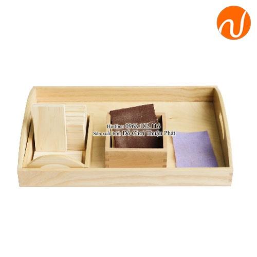 Giáo cụ montessori đánh bóng gỗ GC36-490