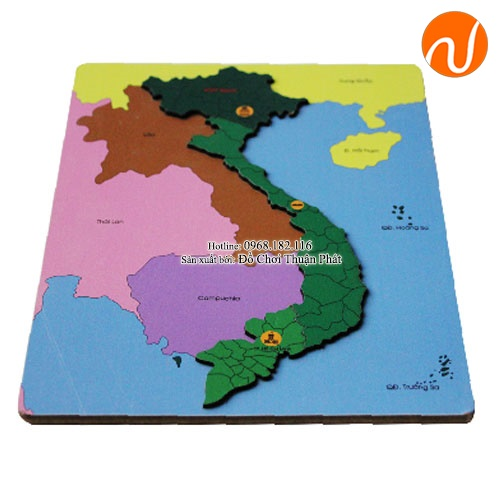 Bản đồ việt nam 2019