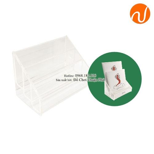 Giáo cụ khay đựng thẻ 3 phần GC36-365 Sử dụng để đựng các thẻ 3 phần