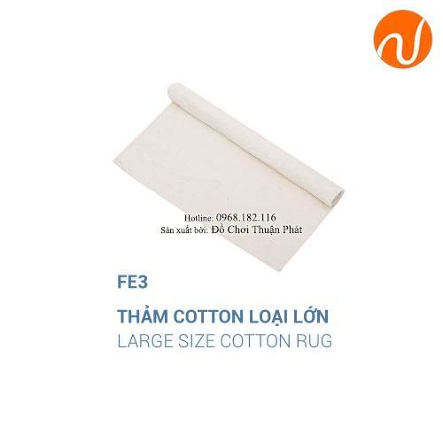 Giáo cụ montessori thảm cotton-1