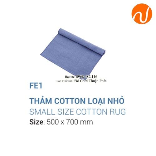 Giáo cụ montessori thảm cotton-3