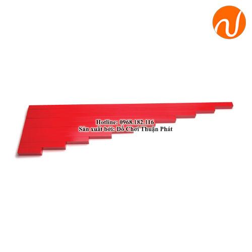 Giáo cụ montessori cây gậy đỏ GC36-020