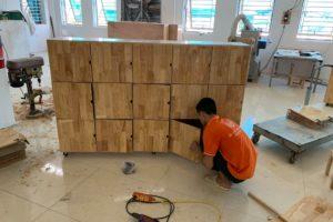 Giới thiệu xưởng sản xuất nội thất mầm non bằng gỗ của đồ chơi Thuận Phát