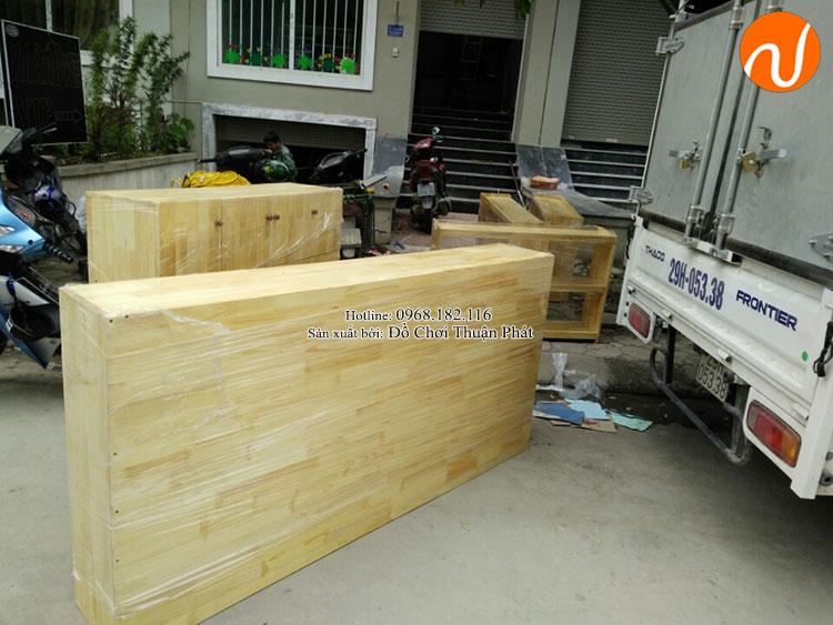 Cung cấp sản phẩm tủ kệ Montessori đồ chơi vận động tại Hà Nội-1