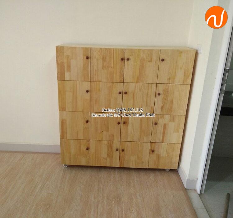 Cung cấp sản phẩm tủ kệ Montessori đồ chơi vận động tại Hà Nội-3