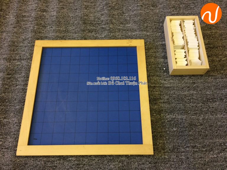 hướng dẫn sử dụng bảng 100 montessori