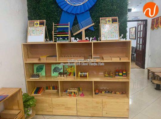 Giao kệ Montessori cho khách hàng mở lớp học Montessori tại Hà Nội