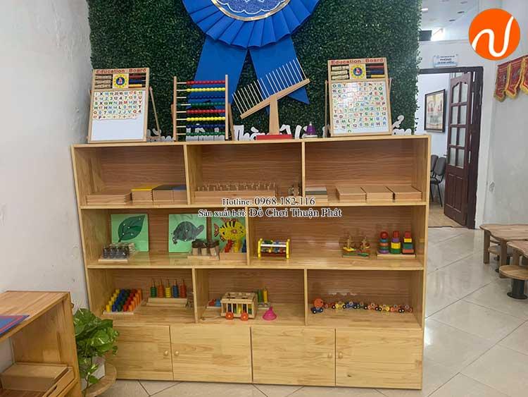 Giao kệ Montessori cho khách hàng mở lớp học Montessori tại Hà Nội-1