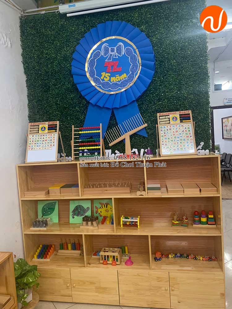 Giao kệ Montessori cho khách hàng mở lớp học Montessori tại Hà Nội-10