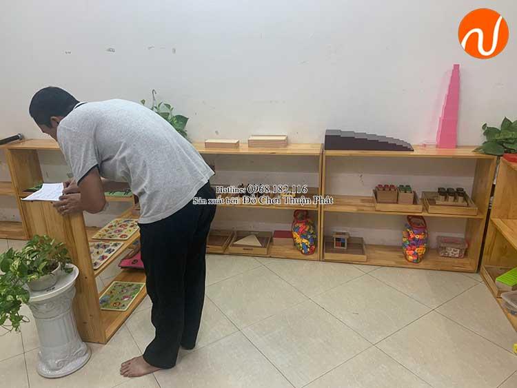 Giao kệ Montessori cho khách hàng mở lớp học Montessori tại Hà Nội-3