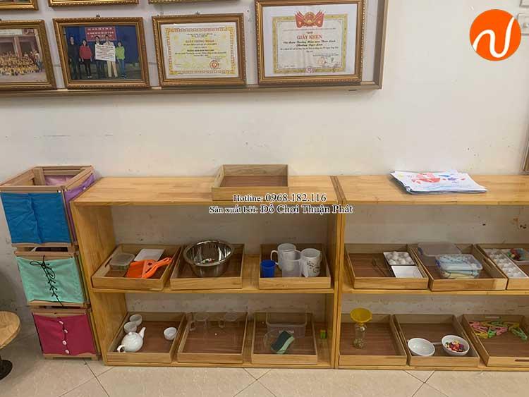 Giao kệ Montessori cho khách hàng mở lớp học Montessori tại Hà Nội-4
