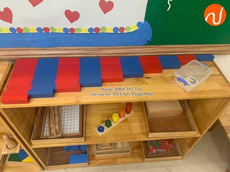 Giao kệ Montessori cho khách hàng mở lớp học Montessori tại Hà Nội-6