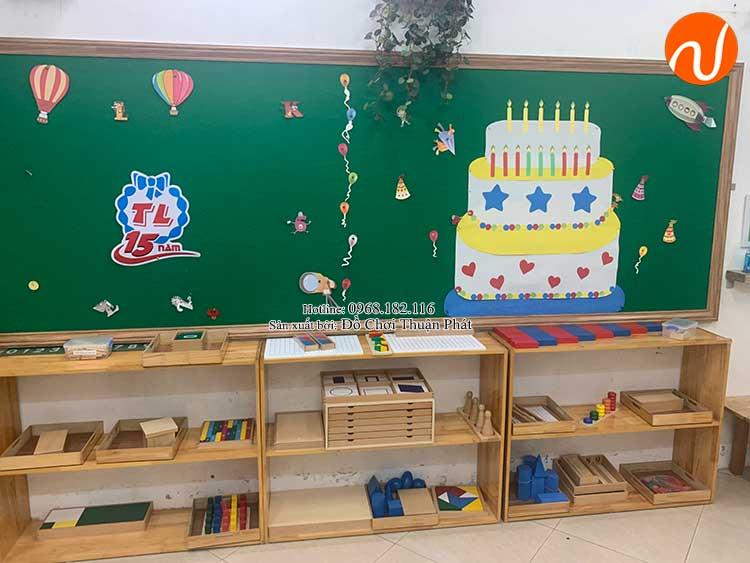 Giao kệ Montessori cho khách hàng mở lớp học Montessori tại Hà Nội-9