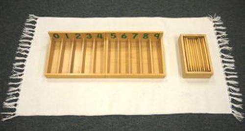Hướng dẫn sử dụng giáo cụ Montessori hộp 45 que tính màu tự nhiên-1
