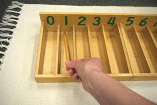 Hướng dẫn sử dụng giáo cụ Montessori hộp 45 que tính màu tự nhiên-4