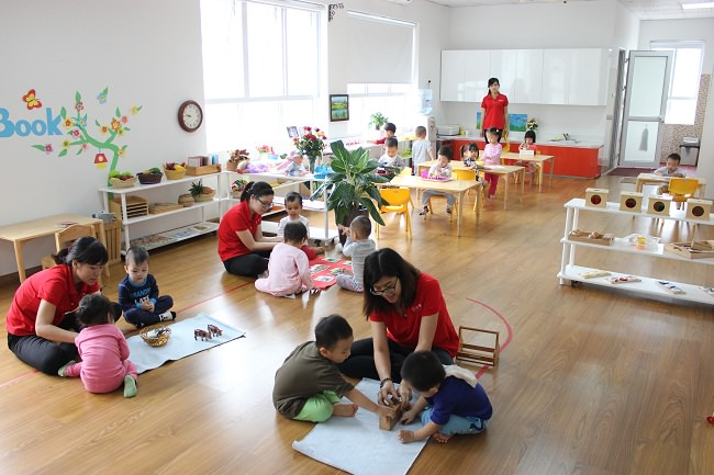Tư vấn trang trí phòng học Montessori đẹp và tiết kiệm chi phí-2