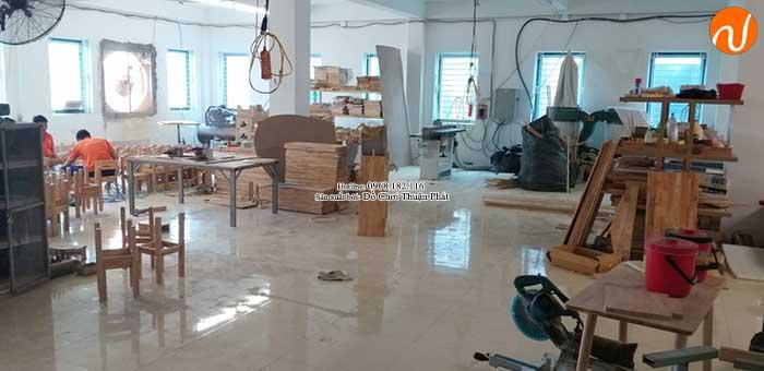 Xưởng sản xuất bàn ghế gỗ mầm non giá rẻ chất lượng tại Hà Nội-1