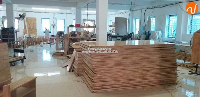 Xưởng sản xuất bàn ghế gỗ mầm non giá rẻ chất lượng tại Hà Nội-3