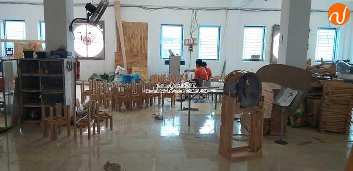 Xưởng sản xuất bàn ghế gỗ mầm non giá rẻ chất lượng tại Hà Nội-4