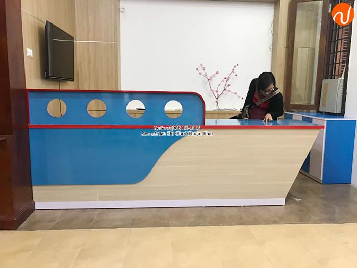 Sản xuất lắp đặt cầu trượt liên hoàn gỗ ngoài trời tại Hà Nội